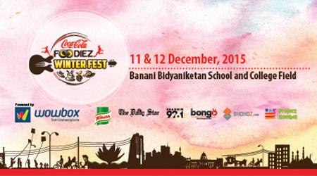 Coca Cola Foodiez Winter Fest - 2015