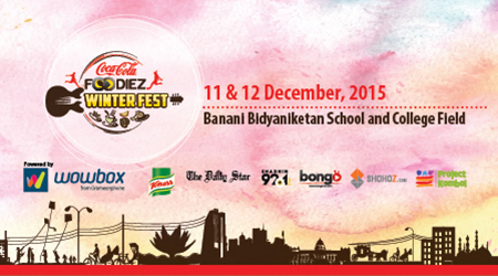 Coca Cola Foodiez Winter Fest - 2015
