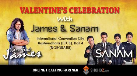 Valentine's Celebration with James & Sanam
