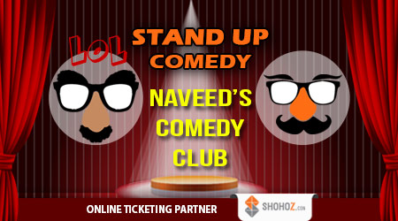 Weekly Stand-up Comedy - Naveed's Comedy Club