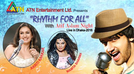 Rhythm for All with Atif Aslam Night Live in Dhaka 2016