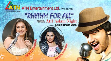 Rhythm for All with Atif Aslam Night Live in Dhaka 2016