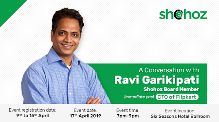 A Conversation with Ravi Garikipati, Shohoz Board Member, Immediate past CTO of Flipkart